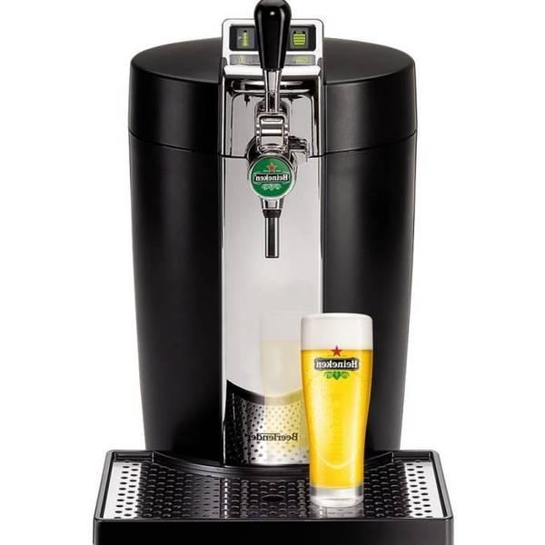 Affichage e9 sur machine à biere bier box