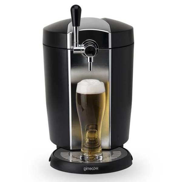 Continental edison-machine à bière 5l noir