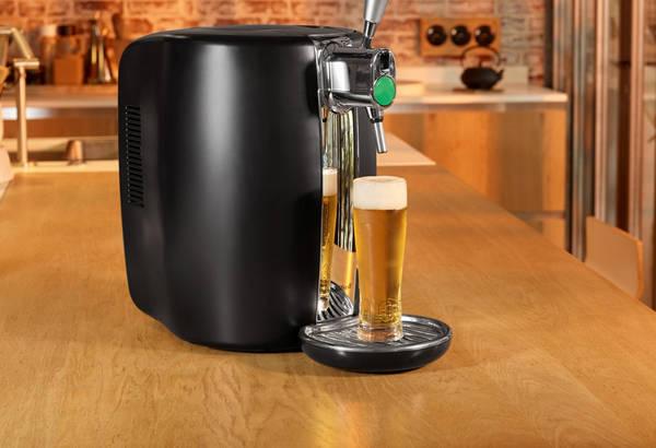 Tete de sdoutirage platique machine à bière