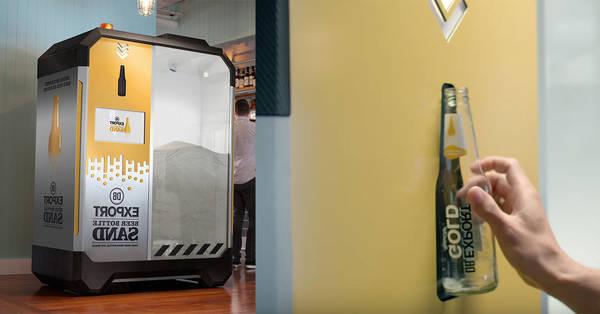 Machine à bière krups avec niveaux